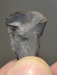 "A nice , Late Mesolithic / Early Neolithic flint ""Petit Tranchet"" arrowhead, Lancashire. SOLD"